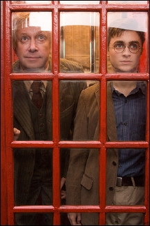 harry potter phone booth
