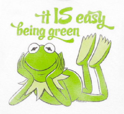 kermit easy being green
