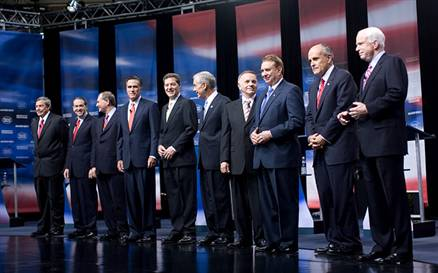 All white male candidates image about voter rights issues